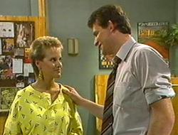 Daphne Clarke, Des Clarke in Neighbours Episode 0234