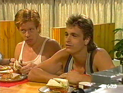 Clive Gibbons, Shane Ramsay in Neighbours Episode 0234