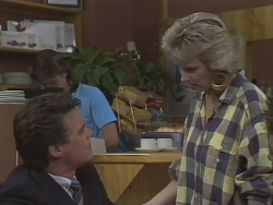 Mike Young, Paul Robinson, Daphne Clarke in Neighbours Episode 0445