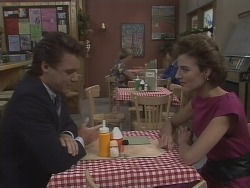 Paul Robinson, Gail Lewis in Neighbours Episode 0445