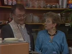 Harold Bishop, Eileen Clarke in Neighbours Episode 0563