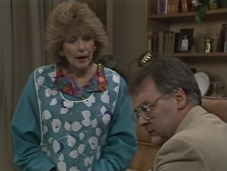 Madge Bishop, Harold Bishop in Neighbours Episode 0590