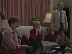 Nell Mangel, Jane Harris, Harold Bishop in Neighbours Episode 0590