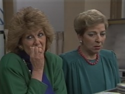Madge Bishop, Eileen Clarke in Neighbours Episode 0590