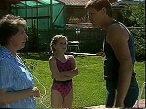 Edith Chubb, Katie Landers, Joe Mangel in Neighbours Episode 0888