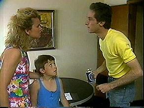 Noelene Mangel, Toby Mangel, Ted Vickers in Neighbours Episode 0888