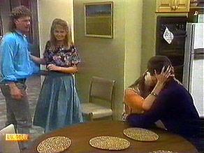 Henry Ramsay, Bronwyn Davies, Kerry Bishop, Joe Mangel in Neighbours Episode 0895