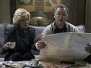 Madge Bishop, Harold Bishop in Neighbours Episode 1494
