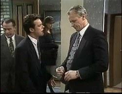 Doug Willis, Paul Robinson, Beth Brennan, Jim Robinson in Neighbours Episode 1726