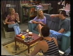 Phoebe Bright, Annalise Hartman, Stephen Gottlieb, Russell Butler in Neighbours Episode 1891