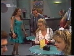 Julie Robinson, Philip Martin, Annalise Hartman in Neighbours Episode 1891