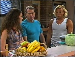 Gaby Willis, Brad Willis, Doug Willis in Neighbours Episode 1900