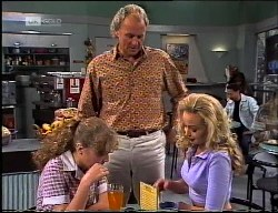 Debbie Martin, Jim Robinson, Annalise Hartman in Neighbours Episode 1900