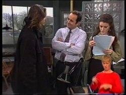 Wayne Duncan, Philip Martin, Gaby Willis in Neighbours Episode 1978