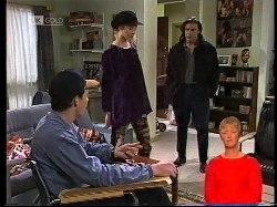 Stephen Gottlieb, Phoebe Bright, Wayne Duncan in Neighbours Episode 1978