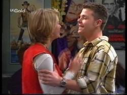 Danni Stark, Michael Martin in Neighbours Episode 2530