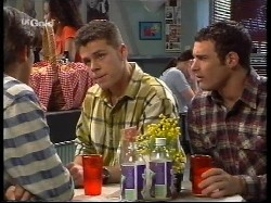 Malcolm Kennedy, Michael Martin, Stonie Rebecchi in Neighbours Episode 2530