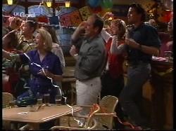 Hannah Martin, Michael Martin, Helen Daniels, Libby Kennedy, Philip Martin, Danni Stark, Sam Kratz in Neighbours Episode 2530