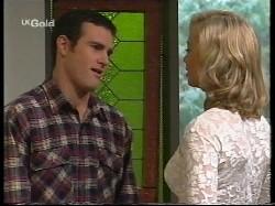 Stonie Rebecchi, Annalise Hartman in Neighbours Episode 2530