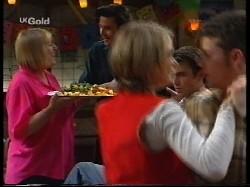 Angie Rebecchi, Sam Kratz, Danni Stark, Malcolm Kennedy, Michael Martin in Neighbours Episode 2530