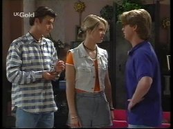Malcolm Kennedy, Danni Stark, Brett Stark in Neighbours Episode 2531