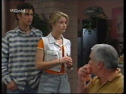 Malcolm Kennedy, Danni Stark, Lou Carpenter in Neighbours Episode 2531