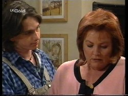 Darren Stark, Cheryl Stark in Neighbours Episode 2679