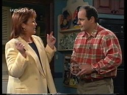 Cheryl Stark, Philip Martin in Neighbours Episode 2679