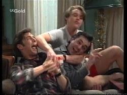 Malcolm Kennedy, Karl Kennedy, Billy Kennedy in Neighbours Episode 2770