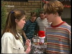 Anne Wilkinson, Lance Wilkinson, Toadie Rebecchi, Billy Kennedy in Neighbours Episode 2770