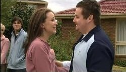 Sindi Watts, Jack Scully, Libby Kennedy, Toadie Rebecchi in Neighbours Episode 4605