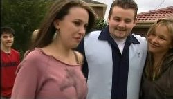 Stingray Timmins, Libby Kennedy, Toadie Rebecchi, Steph Scully in Neighbours Episode 4605
