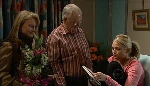 Loris Timmins, Harold Bishop, Sky Mangel in Neighbours Episode 5091