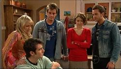 Pepper Steiger, Frazer Yeats, Ned Parker, Rosie Cammeniti, Will Griggs in Neighbours Episode 5094