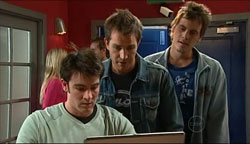 Frazer Yeats, Will Griggs, Ned Parker in Neighbours Episode 5094