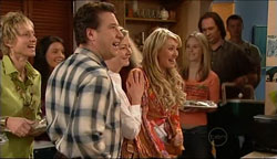 Allan Steiger, Christine Rodd, Pepper Steiger in Neighbours Episode 5094
