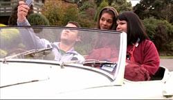 Guy Sykes, Rachel Kinski, Bree Timmins in Neighbours Episode 5094