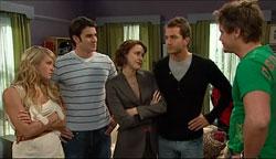 Pepper Steiger, Frazer Yeats, Rosie Cammeniti, Will Griggs, Ned Parker in Neighbours Episode 5101