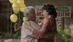 Lou Carpenter, Mishka Schneiderova in Neighbours Episode 5102