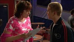 Mishka Schneiderova, Boyd Hoyland in Neighbours Episode 5105
