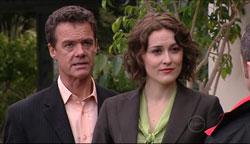 Paul Robinson, Rosie Cammeniti, Rex Colt in Neighbours Episode 5105
