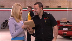 Janae Timmins, Rex Colt in Neighbours Episode 5105