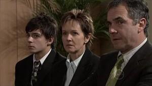Zeke Kinski, Susan Kennedy, Karl Kennedy in Neighbours Episode 5339