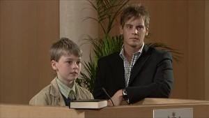 Mickey Gannon, Ned Parker in Neighbours Episode 5339