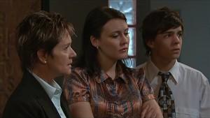 Susan Kennedy, Rosie Cammeniti, Zeke Kinski in Neighbours Episode 5339