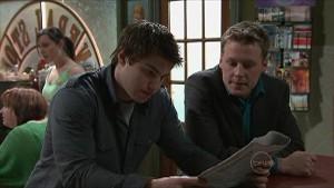 Declan Napier, Oliver Barnes in Neighbours Episode 5342