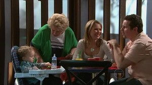 Charlie Hoyland, Valda Sheergold, Steph Scully, Toadie Rebecchi in Neighbours Episode 5342