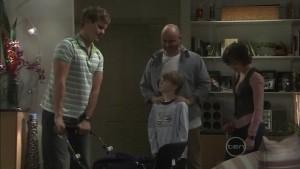 Ned Parker, Steve Parker, Mickey Gannon, Bridget Parker in Neighbours Episode 5387