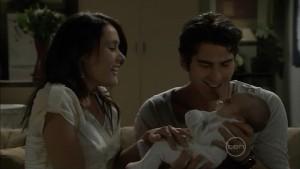 Carmella Cammeniti, Marco Silvani, Chloe Cammeniti in Neighbours Episode 5387