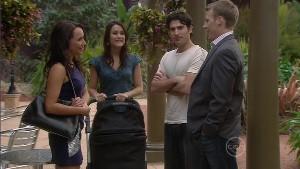 Mia Silvani, Carmella Cammeniti, Marco Silvani, Oliver Barnes in Neighbours Episode 5396